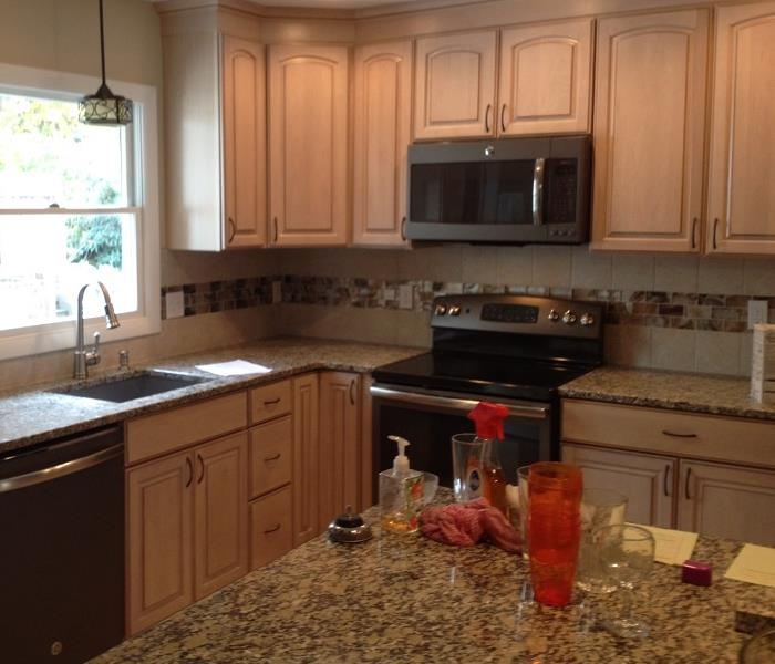 Fire Restoration of Customer's Kitchen  After